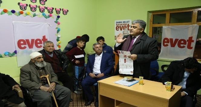 """Başkan Özgüven: """"Her şey büyük ve güçlü Türkiye için"""""""