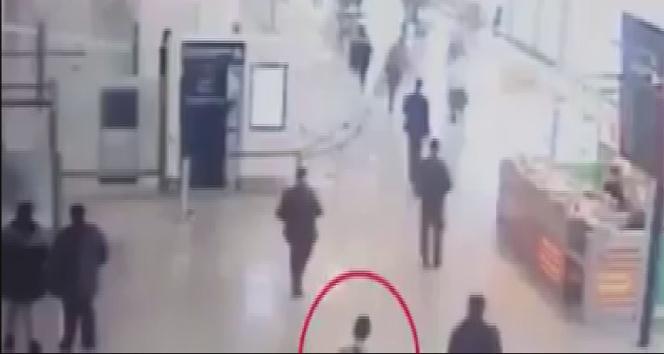Paris Orly Havalimanı saldırısı kamerada