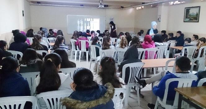 Şehitler Ortaokulunda 'Sağlıklı Beslenme' semineri