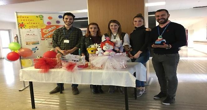 ESOGÜ Hastanesi'nde Dünya Sosyal Hizmet Günü etkinliği