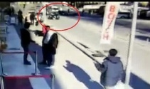 Yaşlı adamın öldüğü kaza güvenlik kamerasında
