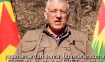 PKK, Kürt halkını hayır demesi için tehdit ediyor