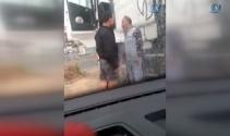 İsrail polisi Filistinli yaşlı taksi sürücüsünü dövdü