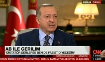 Erdoğan, CNN Türk/Kanal D ortak canlı yayınında konuştu