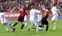 Türkiye Finlandiya maçı foto özet