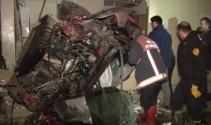 Ankarada katliam gibi kaza! 4 ölü, 1 yaralı