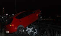 Unkapanı Köprüsünde 2 trafik kazası