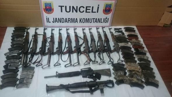 14 teröristin öldürüldüğü operasyonda bunlar ele geçirildi