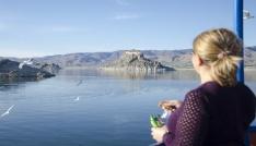 Barajın ortasındaki tarihi güzellik Pertek Kalesi