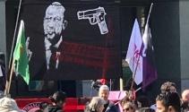 Cumhurbaşkanı Erdoğandan skandal pankarta tepki