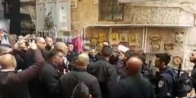 Mescidi Aksa'nın üç muhafızı gözaltına alındı