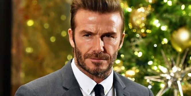 David Beckham Kral Arthur filmi için tanınmaz halde