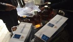 Yalovada 6 bin paket kaçak sigara ele geçirildi
