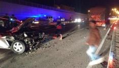 Sinopta trafik kazası: 1 yaralı