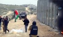 İsrailde Toprak Günü yürüyüşüne müdahale