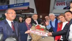 AK Partili Fatma Güldemet Sarı Kadirlide halka hitap etti