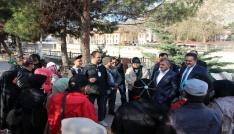 Siyasetçiler turistlere Amasyayı anlattı
