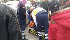 Çankırıda motosiklet kazası: 1 yaralı