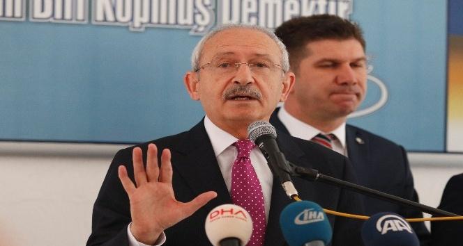 CHP Genel Başkanı Kılıçdaroğlu Burdur'da