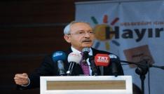 CHP Lideri Kılıçdaroğlu: Bu anayasa değişikliği bir partinin, bir kişinin değil herkesin kaderini belirleyecek