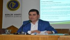Tütüncü, Ispartada yeni Anayasa ve Cumhurbaşkanlığı Hükümet Sistemini anlattı.
