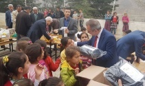 Beşiktaş Uğur Lisesi Adıyaman'a kardeşlik eli uzattı