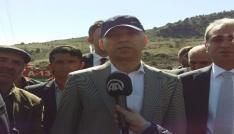 Çankırı Valisi 25 evin yandığı Serçeler köyünde