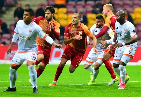 Galatasaray Adanaspor maçından özel kareler