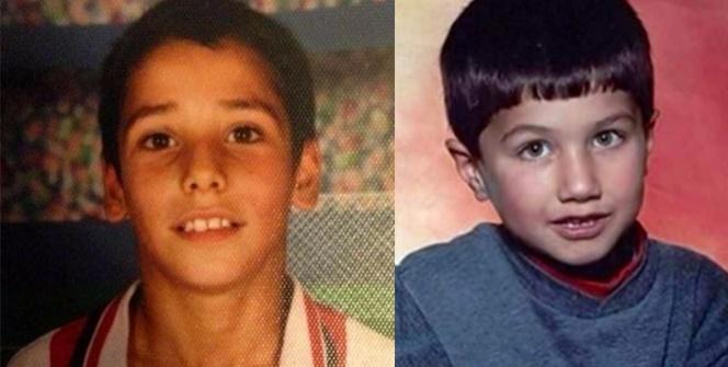 Futbolcuların küçüklük fotoğrafları şaşırttı