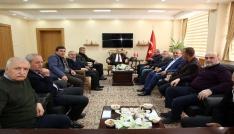 Sancaktepe Belediye Başkanı İsmail Erdem, Vali İsmail Ustaoğlunu ziyaret etti