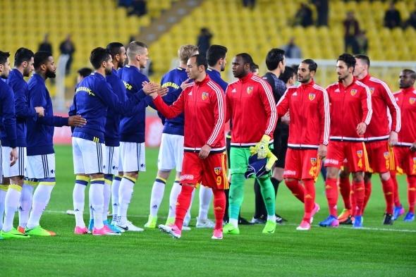 Fenerbahçe Kayserispor maçından özel kareler