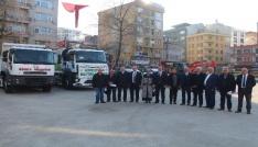 Görele Belediyesinin hizmet filosu güçleniyor