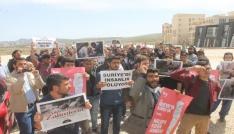 Öğrenciler İdlipteki katliamı kınadı