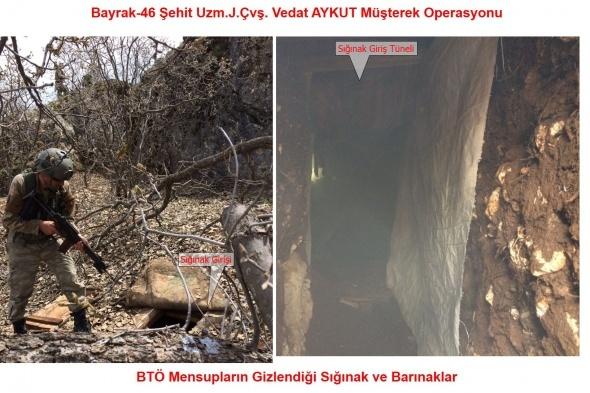 Diyarbakır'da 11 sığınak imha edildi