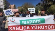 Mardinde sağlıklı yaşam yürüyüşü yapıldı
