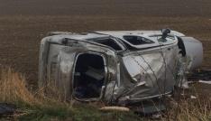 Yemin törenine giderken kaza yaptılar: 6 yaralı