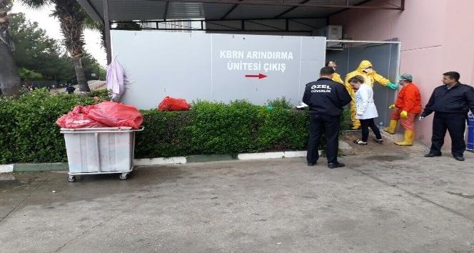 Osmaniyede fabrikadaki iş kazası