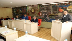 Vali Memiş, İl Genel Meclisi toplantısına katıldı