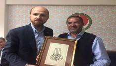 Erdoğandan Alpedoya teşekkür plaketi