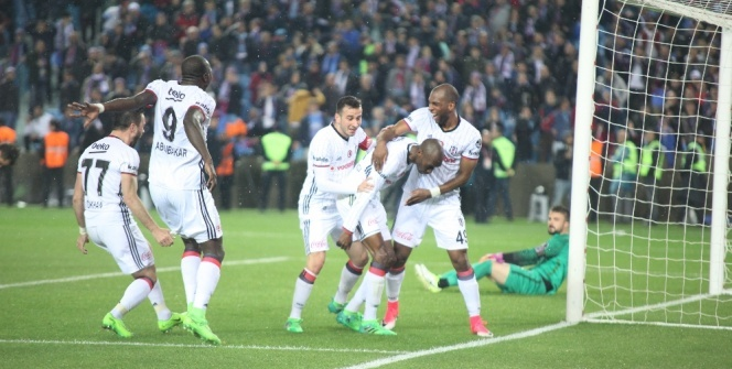 Trabzonspor Beşiktaş maçından özel kareler