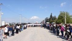 Nusaybinde Polis Haftası Atletizm Koşusu düzenlendi