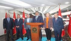 Bakan Tüfenkci Mardin Valiliğini ziyaret etti