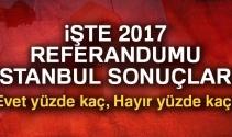Son Dakika: İstanbul referandum sonuçları 2017! İstanbul oy sonuçları | Evet hayır oranı öğren