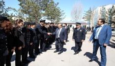Vali İsmail Ustaoğlu İl Emniyet Müdürlüğünü ziyaret etti