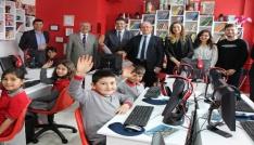 Köy okulu öğrencilerini sevindiren sınıf