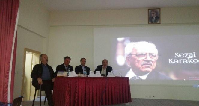 """Ortaköy'de  """"Diriliş Düşüncesi Ve Sezai Karakoç Paneli"""" yapıldı"""