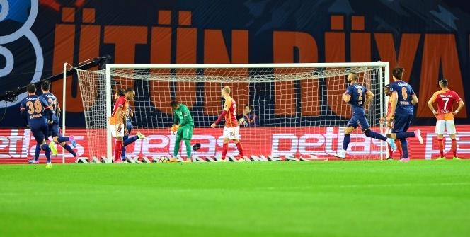 Başakşehir Galatasaray maçından özel kareler