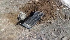 Bingölde PKKya ait 2 sığınak ele geçirildi