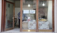 Suriyeli mülteci tatlı yaparak geçimini sağlıyor