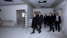 Vali Ustaoğlu, ASP İl Müdürlüğü binasında incelemelerde bulundu